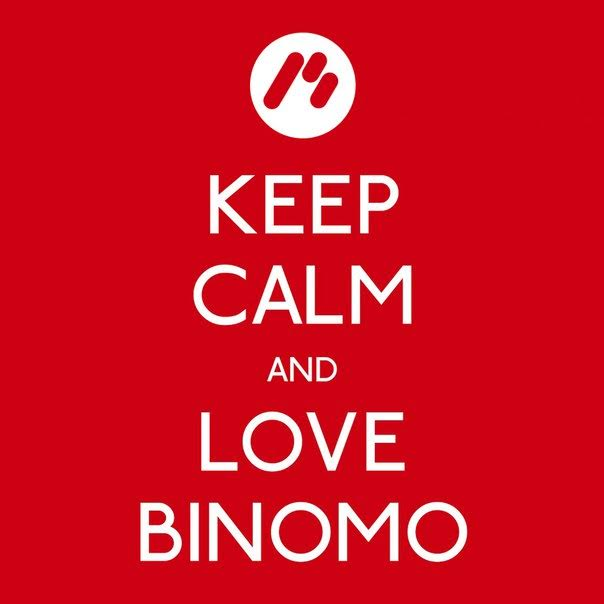 Keep calm and love Binomo